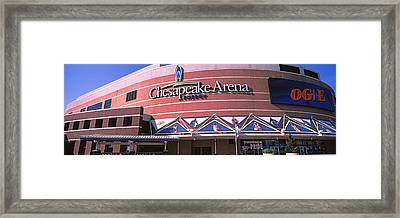 Low Angle View Of A Stadium, Chesapeake Framed Print by Panoramic Images