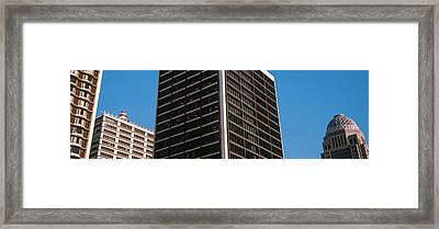 Low Angle View Of Bb&t Building Framed Print by Panoramic Images