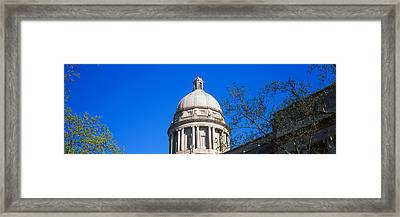Low Angle View Of State Capitol Framed Print by Panoramic Images