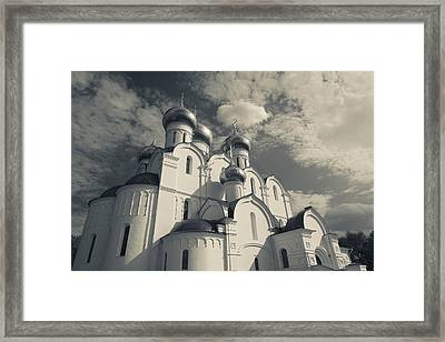 Low Angle View Of The Uspenski Framed Print by Panoramic Images