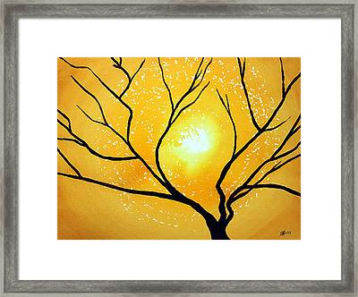 Low Country Original Painting Framed Print by Sol Luckman