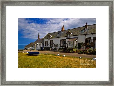 Low Newton By The Sea Framed Print by Louise Heusinkveld
