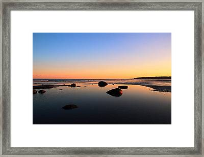 Low Tide Framed Print by Andrea Galiffi