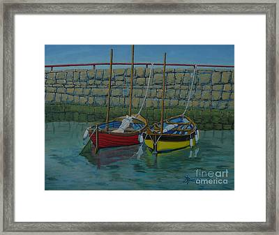 Low Tide Framed Print by Anthony Dunphy
