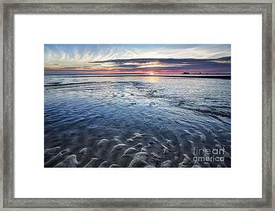 Low Tide East Beach Framed Print by Joan McCool