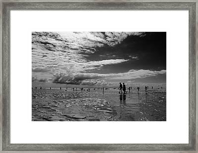 Low Tide Framed Print by Jean-Philippe Jouve