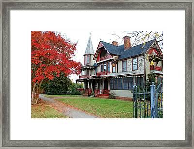 Lowenstein-henkel House Framed Print by Cynthia Guinn