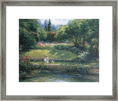 Loyal Friendship Framed Print by Ghambaro
