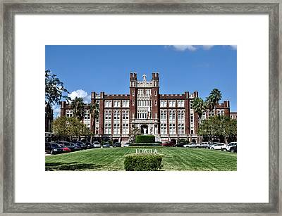 Loyola University Framed Print by Bill Cannon
