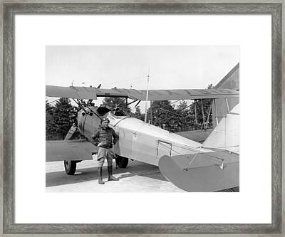 Lt. Doolittle's Anti Fog Plane Framed Print by Underwood Archives