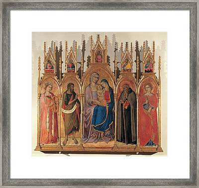 Luca Di Tomm , St Anna Metterza Framed Print by Everett