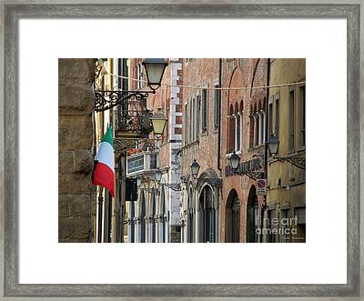 Lucca City Framed Print by Ramona Matei