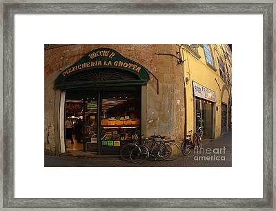 Lucca Italy Framed Print by Bob Christopher
