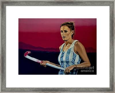 Luciana Aymar Framed Print by Paul Meijering