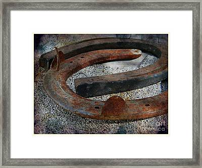 Luck Within Framed Print by Michelle Frizzell-Thompson
