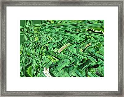 Lucky Clovers Framed Print by Carol Lynch