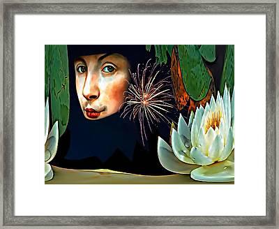 Lucy In The Sky With Diamonds 2    Framed Print by Steve Harrington