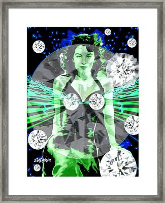 Lucy In The Sky With Diamonds Framed Print by Seth Weaver