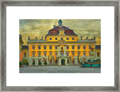 Ludwigsburg Palace  Framed Print by L Wright