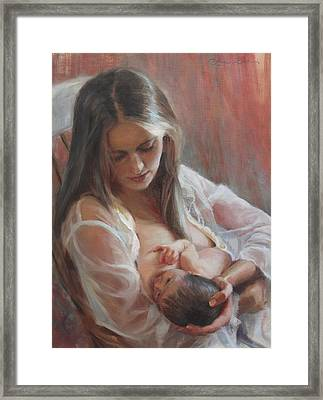 Lullaby Framed Print by Anna Rose Bain