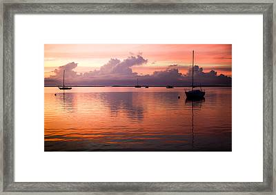 Lullabye Of Calming Winds Framed Print by Karen Wiles