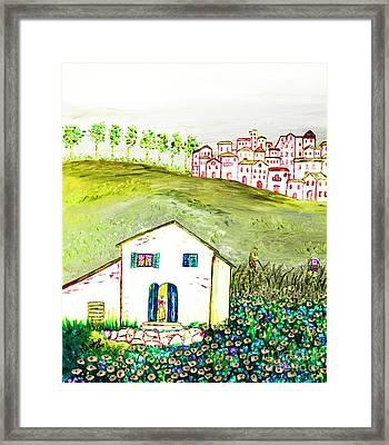 L'ultima Fatica Framed Print by Loredana Messina
