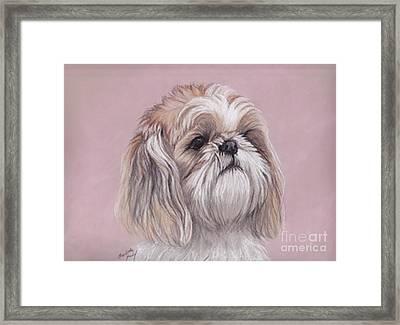 Lulu Framed Print by Charlotte Yealey