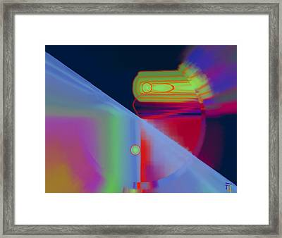 Luminaries Framed Print by  Fli Art