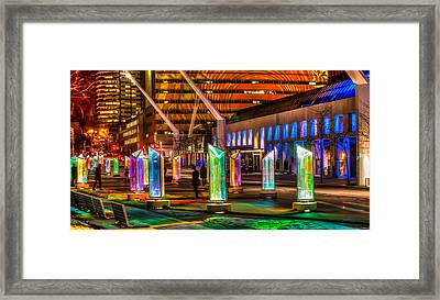 Luminotherapie Framed Print by Michel Emery