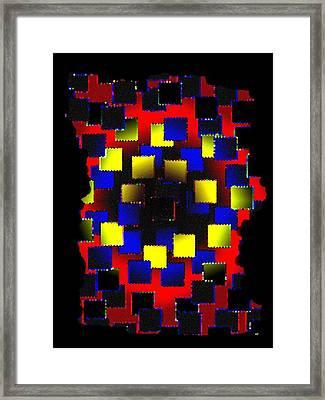 Luminous Energy 28 Framed Print by Will Borden