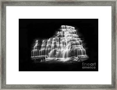 Luminous Waters Vii Framed Print by Michele Steffey