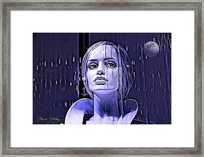 Luna Framed Print by Chuck Staley