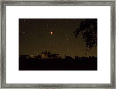 Lunar Eclipse Framed Print by Eckhard Slawik