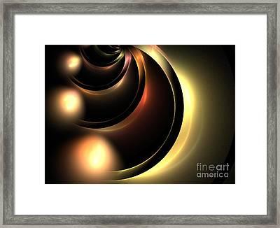 Lunar Framed Print by Kim Sy Ok