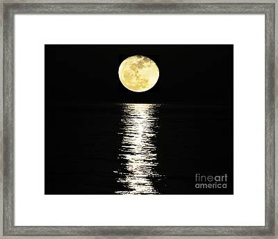Lunar Lane 03 Framed Print by Al Powell Photography USA