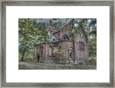 Lung Church Framed Print by Nathan Wright