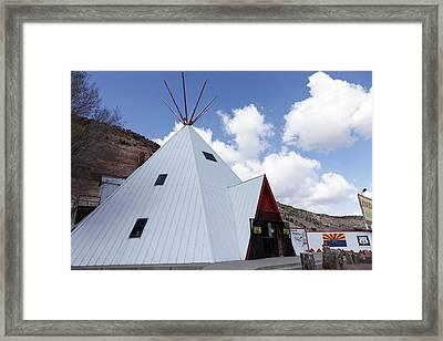 Lupton, Arizona, United States Framed Print by Julien Mcroberts