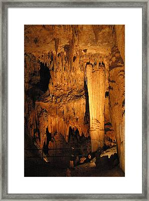 Luray Caverns - 121284 Framed Print by DC Photographer