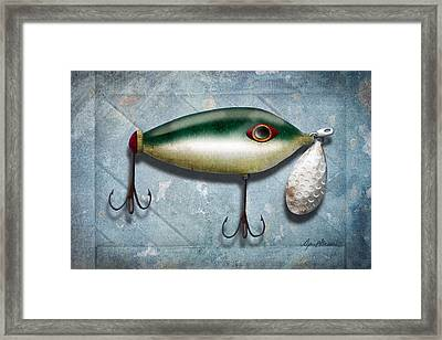Lure I Framed Print by April Moen