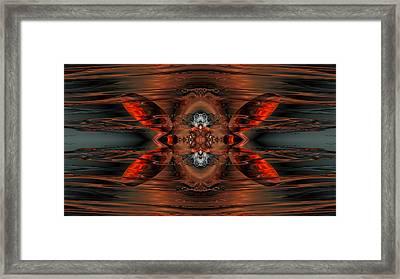 Lurking Beneath Framed Print by Claude McCoy
