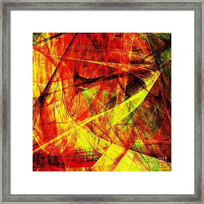 Lust 20130512 Square Framed Print by Wingsdomain Art and Photography