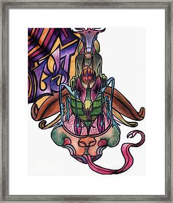 Lust Framed Print by Tiffany Selig