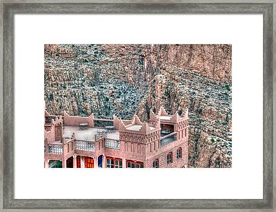 Luxury In The Gorges Framed Print by Sophie Vigneault