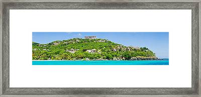 Luxury Mansions On An Island, Peter Framed Print by Panoramic Images