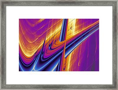 Lyapunov 25 Framed Print by Mark Eggleston