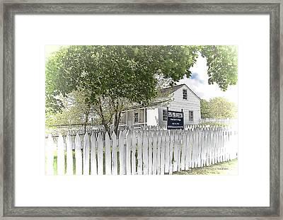 Lydia Leister Farm - Civil War Hospital Framed Print by Dyle   Warren