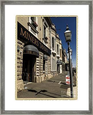 Lydiard Street Postcard Framed Print by Chris Armytage