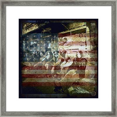 Lynyrd Skynyrd - Simple Man Framed Print by Absinthe Art By Michelle LeAnn Scott