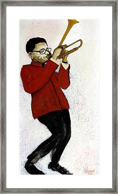 M7 Dizzy Gillespie Framed Print by Dave Coleman