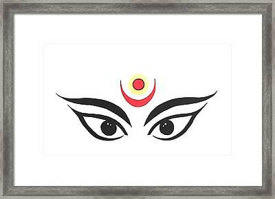 Maa Kali IIi Framed Print by Kruti Shah